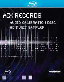 AIX Records Audio Calibration Disc/HD Music Sampler