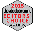 The Absolute Sound Editors Choice Award 2018
